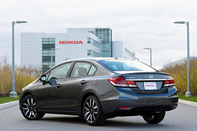 2013 Honda Civic LX Sedan 5AT: The Jalopnik Review