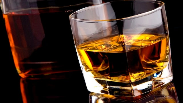 Gargle Whiskey to Soothe a Sore Throat