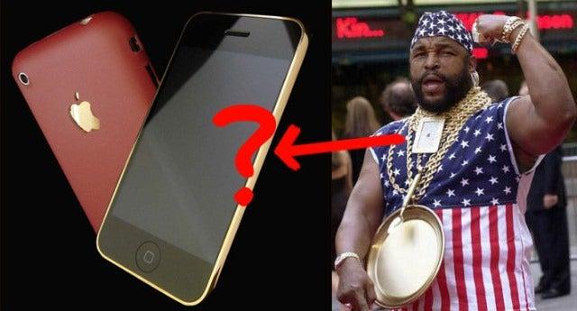 24-Carat Gold iPhone Isn't 24-Carat Gold Enough