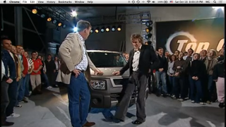 I'm watching an old Top Gear Episode