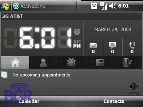 HTC's Next-Gen TouchFLO Windows Mobile 6.1 Interface In Screenshots