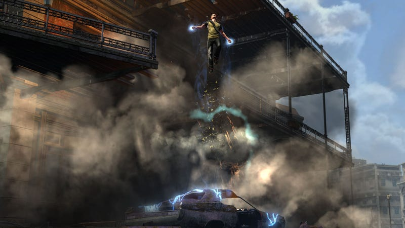 See Infamous 2's New Old Cole, Down To The Pore