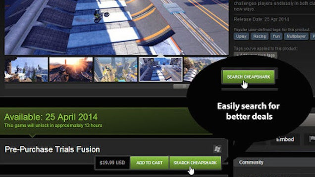 CheapShark Helps Finds You Great Deals on Video Games