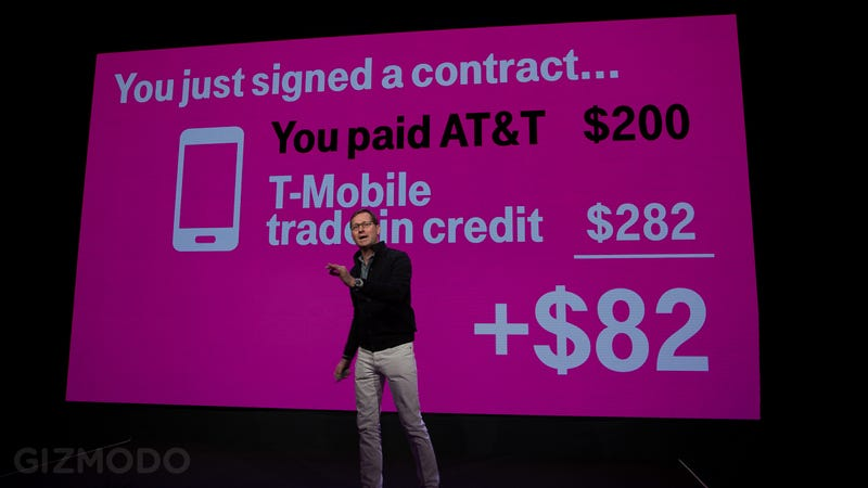 T-Mobile Will Pay Your Early Termination Fee If You Switch