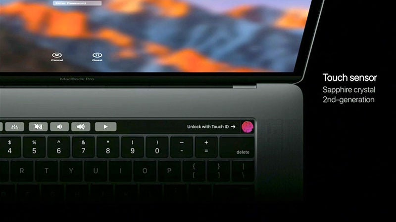 All the Stuff You Can Do With the MacBook Pro's Touchbar