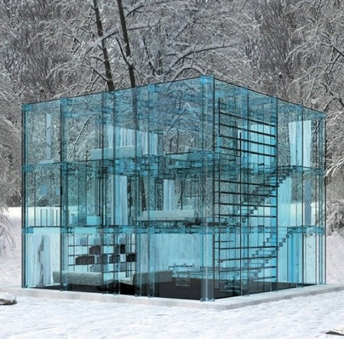 A Minimalist Version Of The Fortress Of Solitude