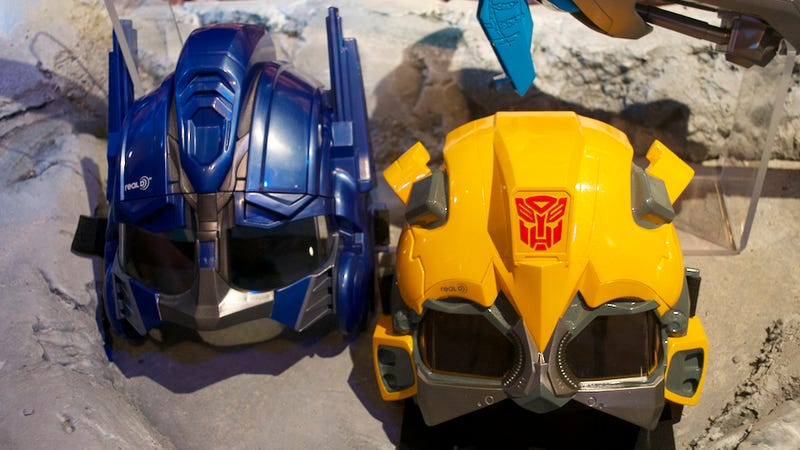 Transformers Roleplaying 3D Masks Are Awesomely Dorky