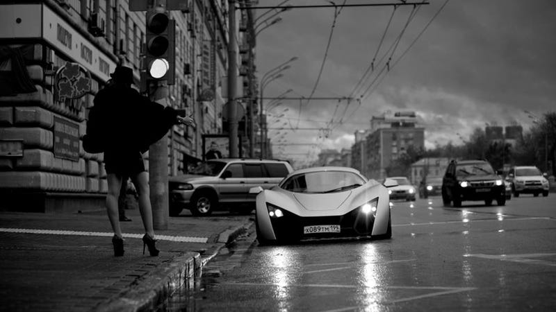 Marussia Advertises Itself As The Ultimate Hooker Picking-Up Machine
