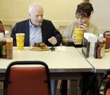 Palin Buttering Up Reporter, McCain Style