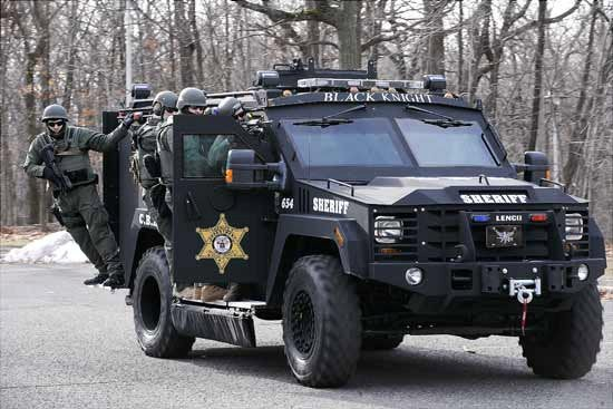 Why do America's police need an armored tank?