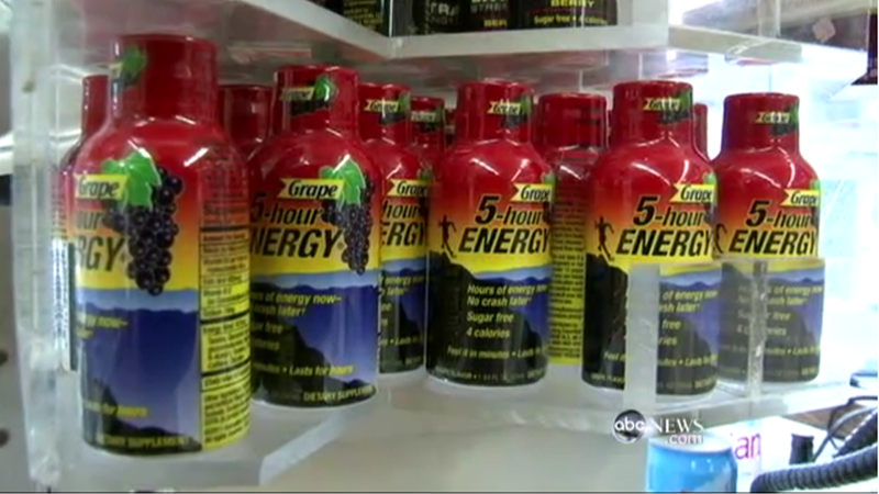 5-Hour Energy Cited in a Bunch of Deaths