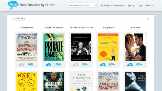 iDreamBooks Gathers Critics' Book Reviews, Shows You What to Read Next