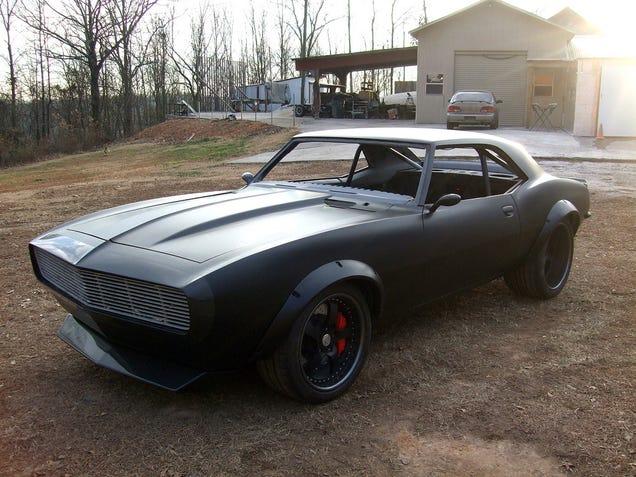 Camaro Ss 1969 Black