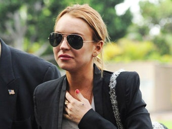 Lindsay Lohan Escapes Jail, Will Stay in Rehab Until 2011