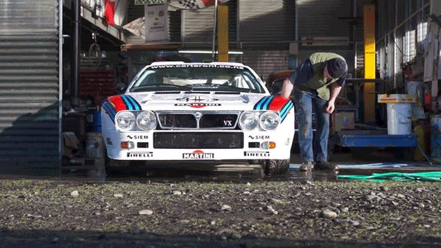 Rally Legends Lancia 037 And Lancia Stratos, Handmade In New Zealand