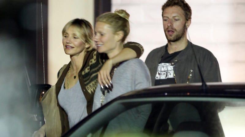 Cameron Diaz Totally Cockblocks Chris Martin, Lucky Him