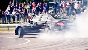 A new Guinness record for longest drift, buyers hate Ford's MyTouch, and hungry like the e-Wolf