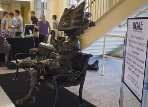 This Awful Statue May End Up Getting The TCU Student-Body President Impeached