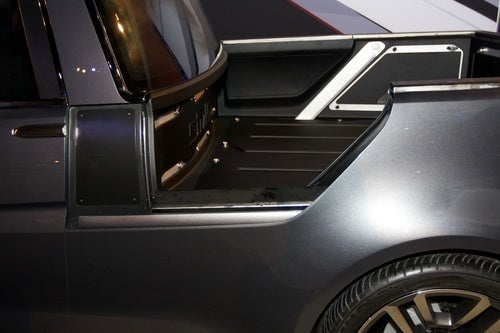 GMC Granite Compact Pickup Concept Up Close