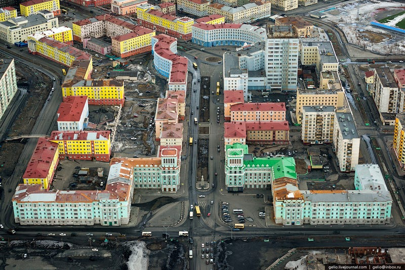 Scenes From The World's Northernmost Big City—A Polluted Hell On Earth