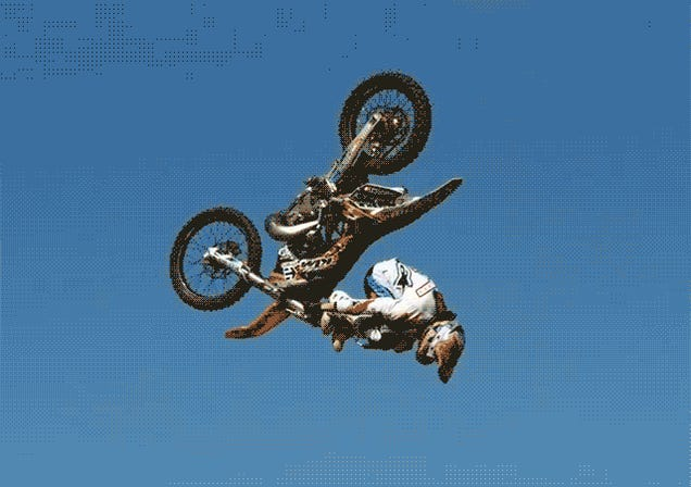 "Watch Levi Sherwood ""Shaolin"" Backflip His Motorcycle At 1000 FPS"