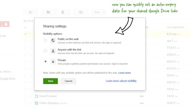Set an Expiration Date for Shared Folders on Google Drive with a Google Script