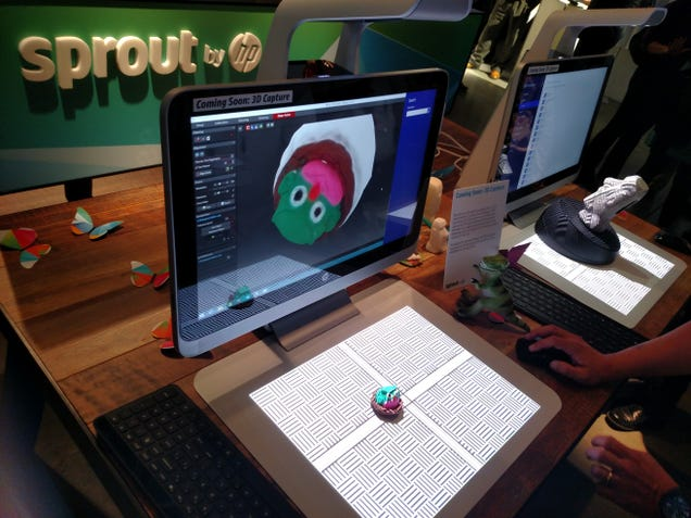 HP's Sprout Is a Creation Machine With No Mouse or Keyboard Required