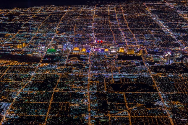 Amazing aerial photos of Las Vegas like you have never seen it before