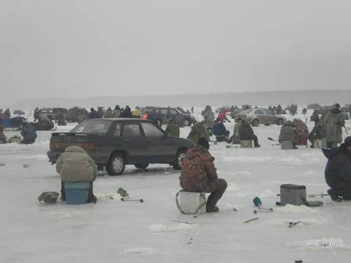 So, I was going to go Ice Fishing