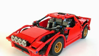 Dual-motor R/C Lego Stratos is drift-happy and perfect