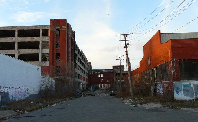 The Ruins Of Detroit Industry: Five Former Factories