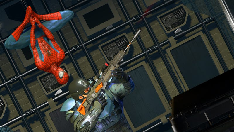 Kraven Stalks The First Trailer For The Amazing Spider-Man 2 Game