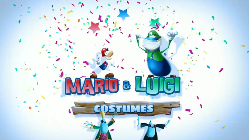 Only Wii U Owners Can Dress Up as Mario in Rayman Legends