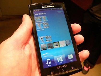 Sony Ericsson Xperia X10 Gallery