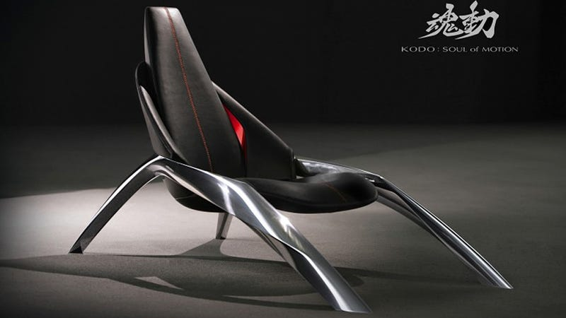 Mazda Wants This Sleek Spider Chair Creeping Across Your Living Room