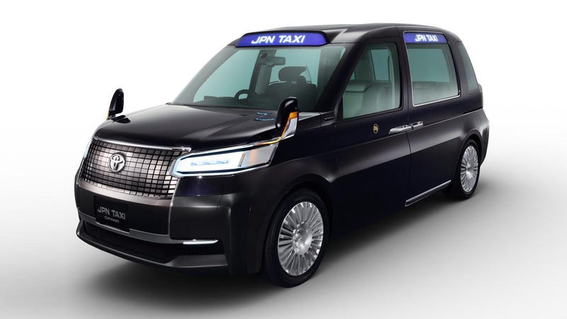 This Futuristic London Cab By Toyota Might Be Japan's Taxi Of Tomorrow