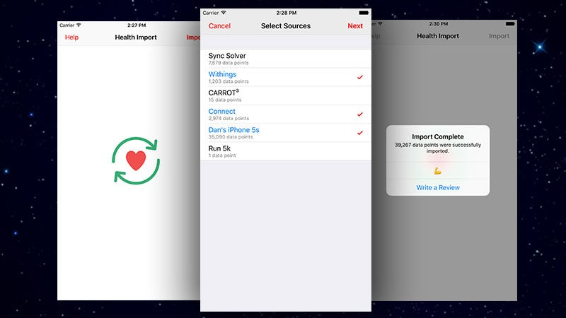 Health Data Importer Gives You Manual Control Over Importing Your Health Data on iPhone