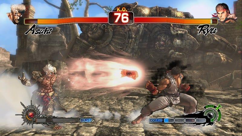 Capcom Teases Intra-Company Crossover With Asura vs. Ryu Image