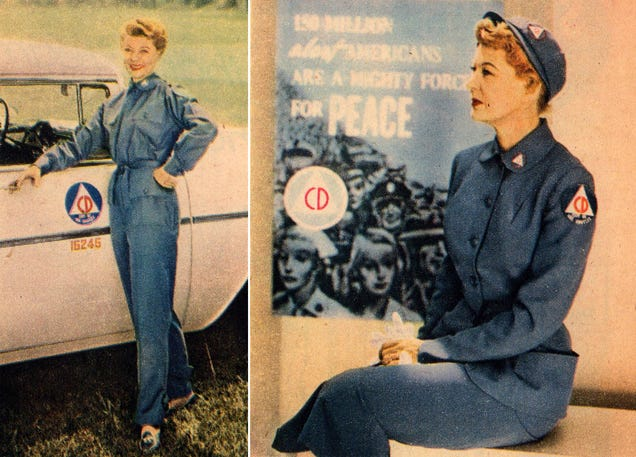 Duck and Cover Chic: The 1956 Uniform For the End of the World