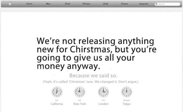 10 iTunes Announcements We'd Have Preferred to The Beatles