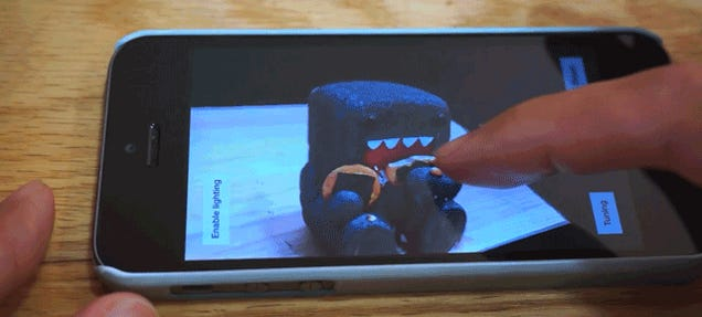 Capture Full 3D Models In Seconds With Just Your Phone