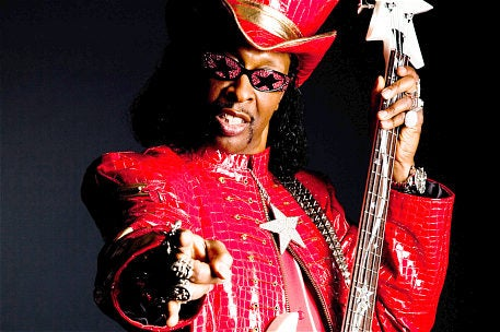 Bootsy Collins tells us how to get a seat on the Mothership