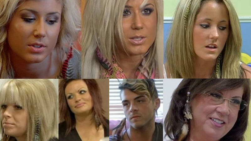 What's With All the Hair Feathers on 'Teen Mom 2'?