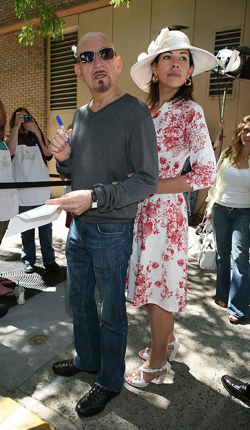 "Sir Ben Kingsley & Wife Daniela: ""Beg Your Pardon?"""