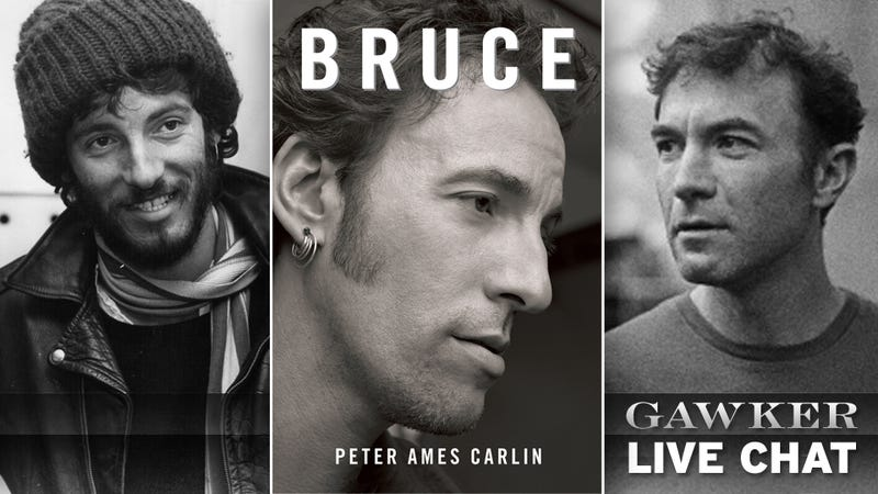 Bruce Author Peter Ames Carlin is Here to Talk Springsteen