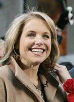 Katie Couric Flashes Her Shit for the Common Folk
