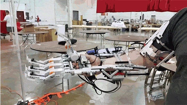 This cyborg arm is the first step to a badass Lego mech suit