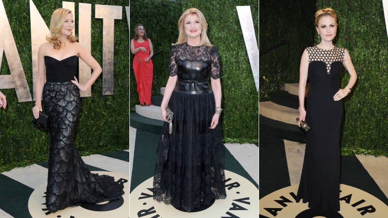 Cleavage, Sideboob and See-Through Dresses at the Vanity Fair Oscar Party