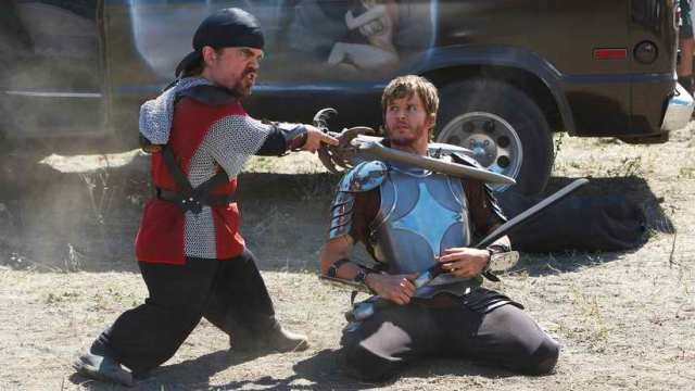 Knights of Badassdom footage shows off Peter Dinklage's drugged up, double sword wielding LARPer