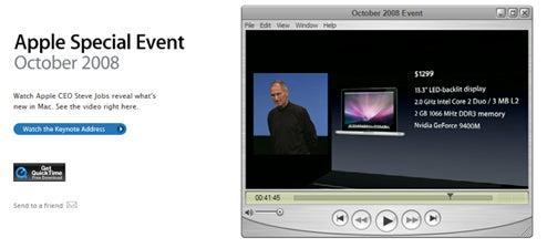 Watch Entire MacBook Event Now